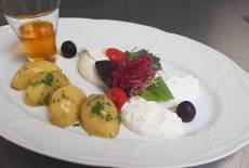 Kartoffeln mit Quark und Leinöl