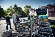 Mit dem FahrradBUS im Seenland unterwegs