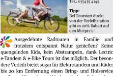 Letric e-Tandem & e-Bike
