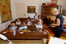 Historischer Schulunterricht in Senftenberg