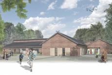 Grundsteinlegung für das Kinderhaus Pusteblume