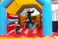 Spiel- & Tobespaß auf dem PiPaPo Hallenspielplatz