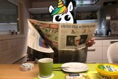 Wurstblatt-Zeitungsteilerei