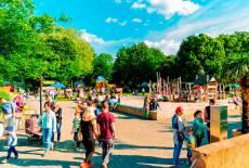 Stadtkindertag im Zoo Hoyerswerda am 2. Juni