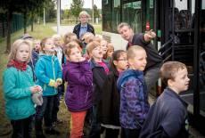 Die Busschule als Filmstar