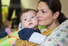 Das Baby fremdelt – ein wichtiger Entwicklungsschritt