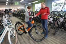Neuer Glanz bei Fahrrad Schenker