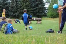Kindergeburtstag mit Sport & Spaß: Soccergolf Lausitz