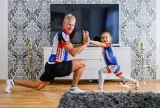 Gemeinsamer Sport – starke Familie!