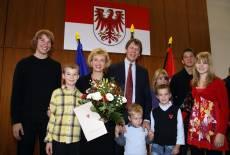 Ministerin mit 7 Kindern